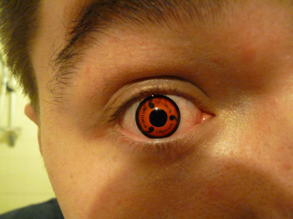 Real Sharingan Eye Contacts 3 dot sharingan eye 2 by
