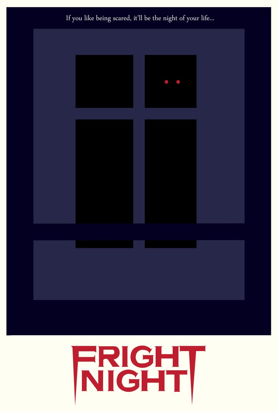 Fright Night Poster -1985- by MarcelisKhaldern on DeviantArt