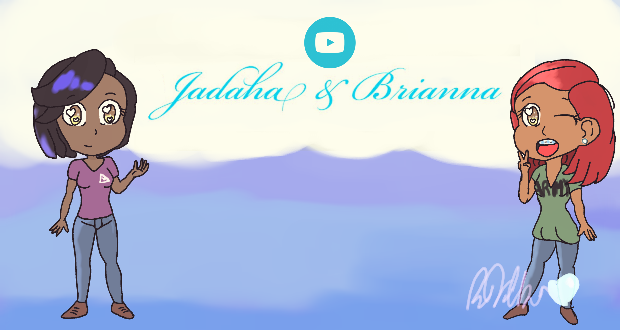 ||Jadaha and Brianna~|| by Stewie106