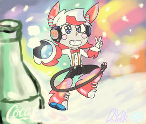   Who Lives In a Bottle of Cola in Space?~  