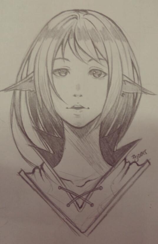 elf headshot by alsei