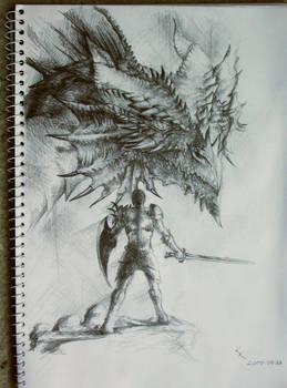 Dragonslayer vs Dragon