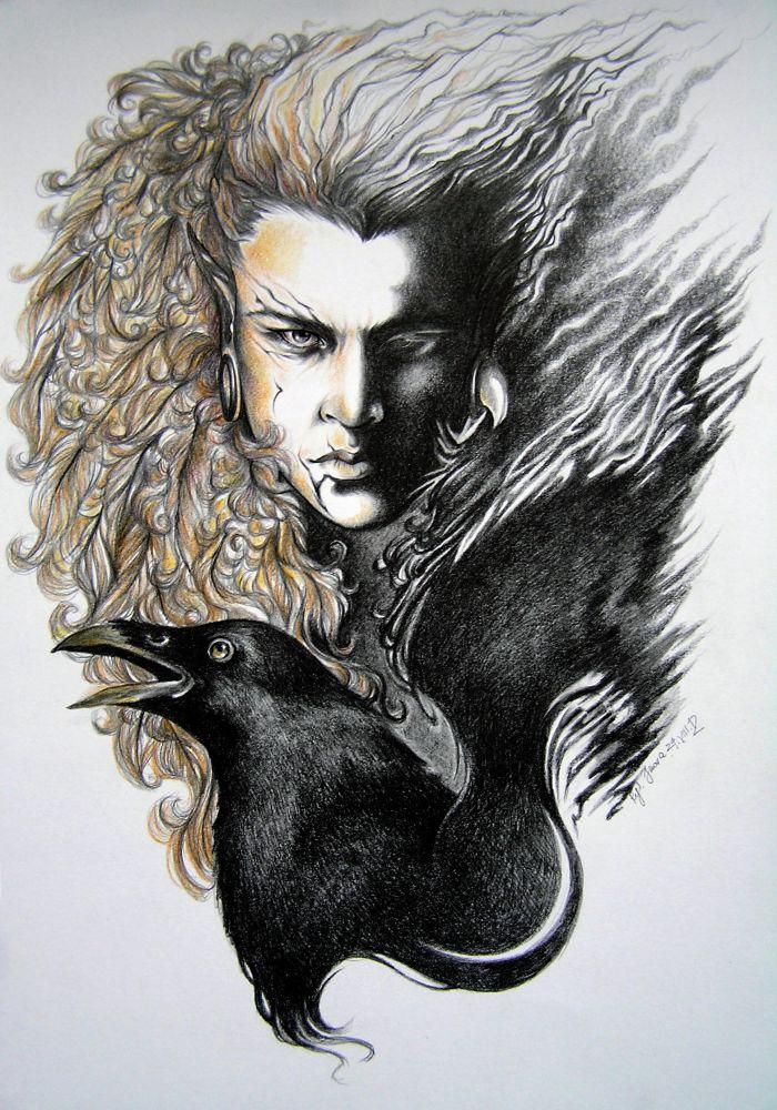 Raven by Allantiee