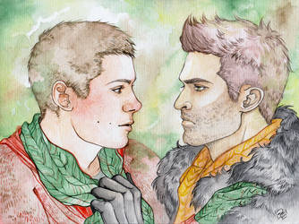 :Sterek: He's so gonna kill me... by Allantiee