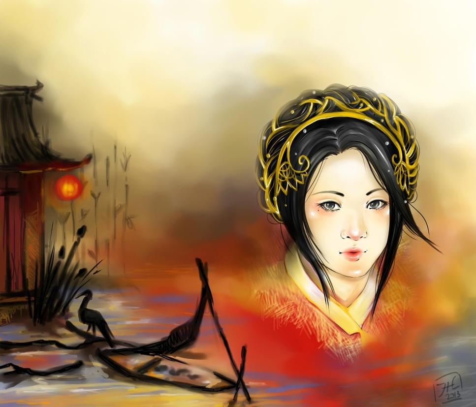 Eastern Queen by Allantiee