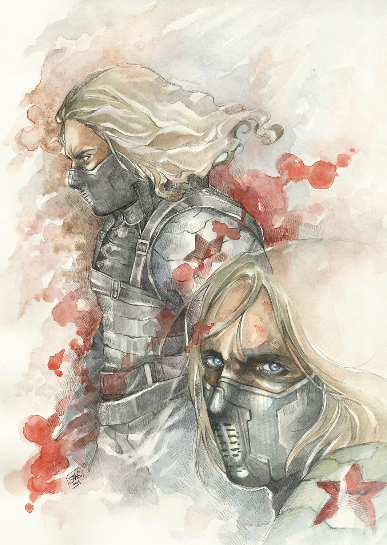 the Winter Soldier by Allantiee