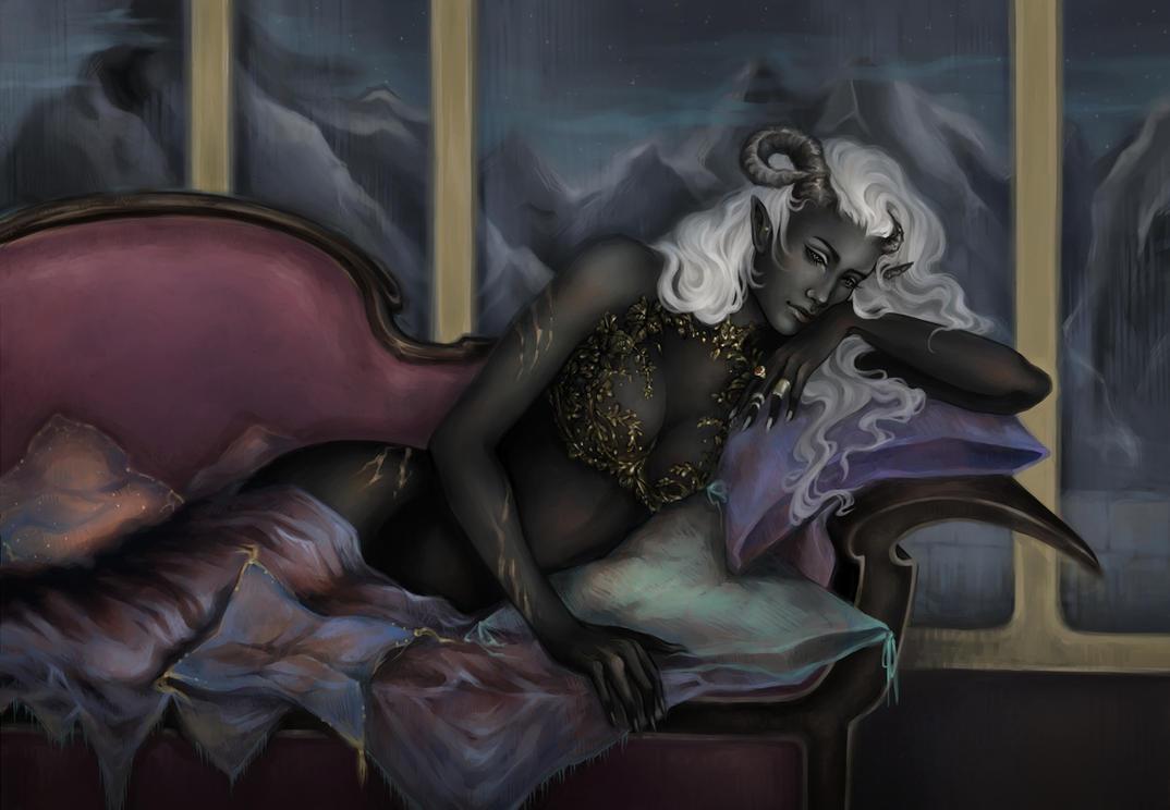 Night by Allantiee