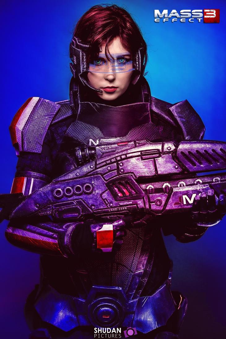 Mass Effect 3 Shepard by ShashinKaihi