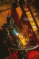 Monster Hunter 3U Helios Armor cosplay by ShashinKaihi