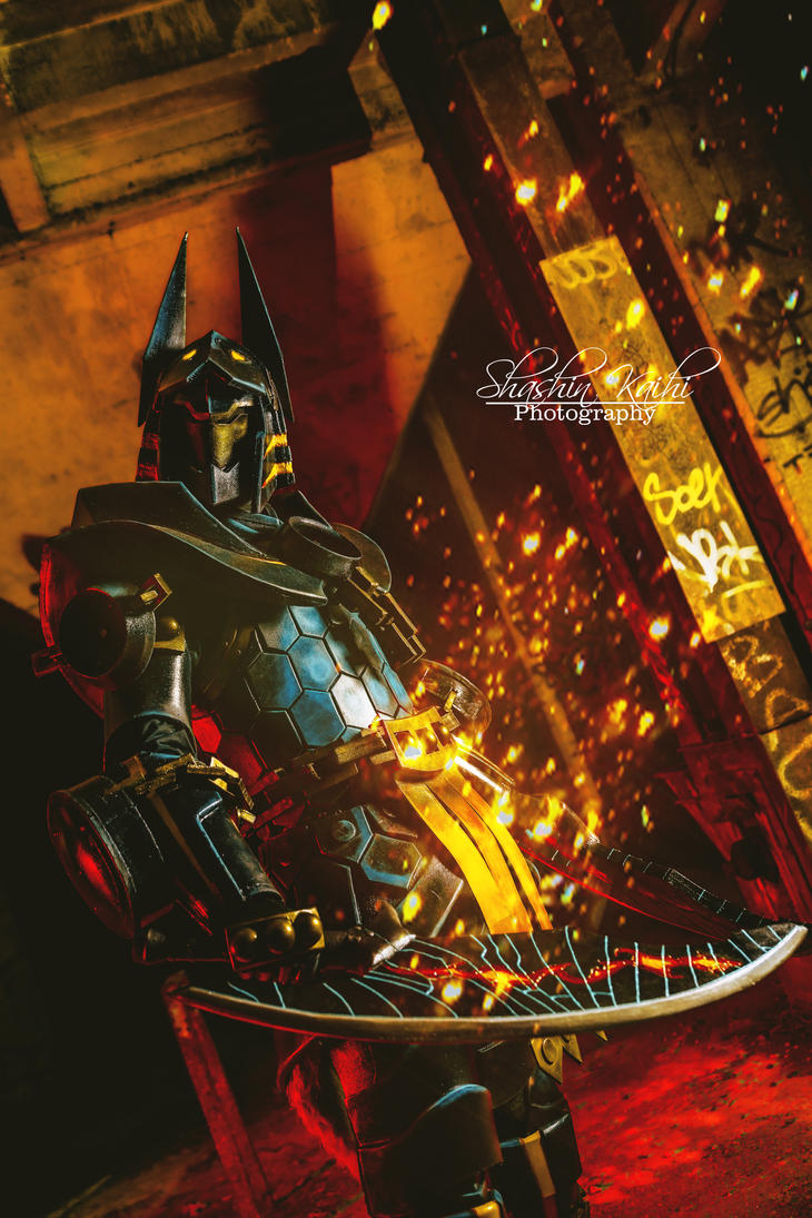 Monster Hunter 3U Helios Armor cosplay by ShashinKaihi