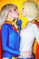 DC Comics SuperGirl PowerGirl by ShashinKaihi