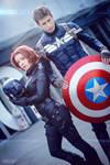 Avengers - Black Widow - Captain America - Marvel