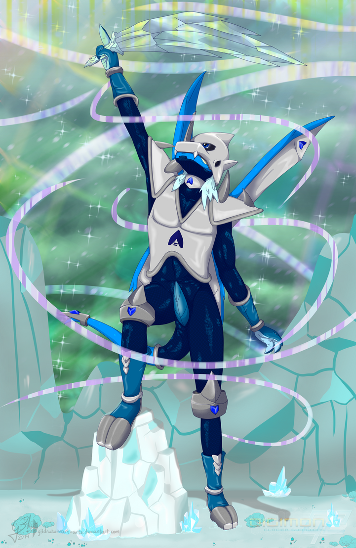 Glacier guardian | Digimon G2 by G3Drakoheart-Arts