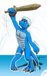 Nano strikes back | Digimon G2 doodle