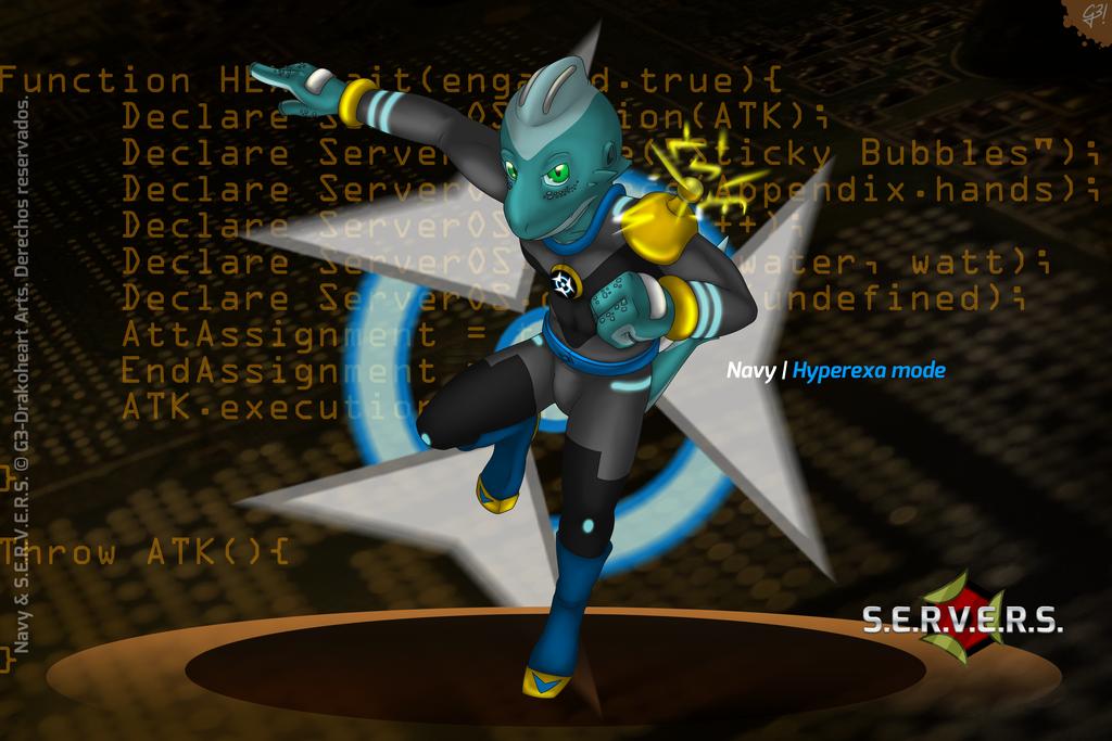 HEX Mutation   S.E.R.V.E.R.S. by G3Drakoheart-Arts