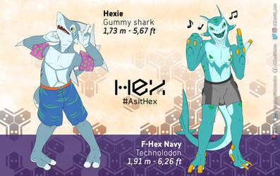 Hex G3! 2020 shark designs