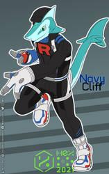 Go Requin - Navy-Cliff | Sharkosplay