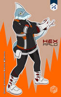 Go Requin - Hex-Arlo | Sharkosplay