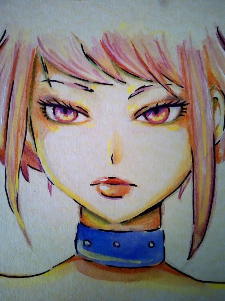 Hitomi Kawagami in colors by akiKuyosho