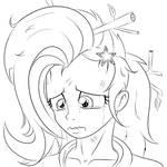 Trixie Sad by albertbm