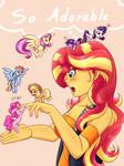 tiny ponies!