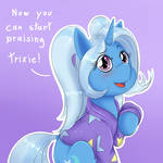 the great and powerful cutie by albertbm