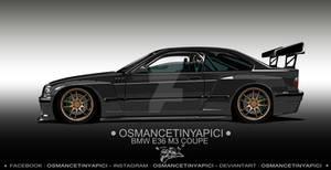 BMW E36 M3 Coupe by Osmancetinyapici