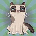 Grumpy Cat Vetcor