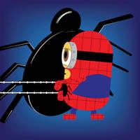 Spiderminion by Ironpotato