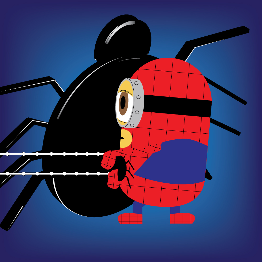 Spiderminion by Ironpotato