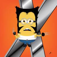Wolverine Minion by Ironpotato