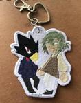 Tokoyami and Ren by TickingArt