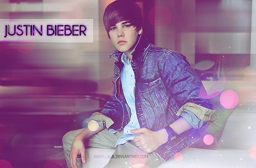 Justin Bieber banner2 by Kamillalb