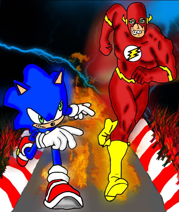 flash vs sonic - photo #4