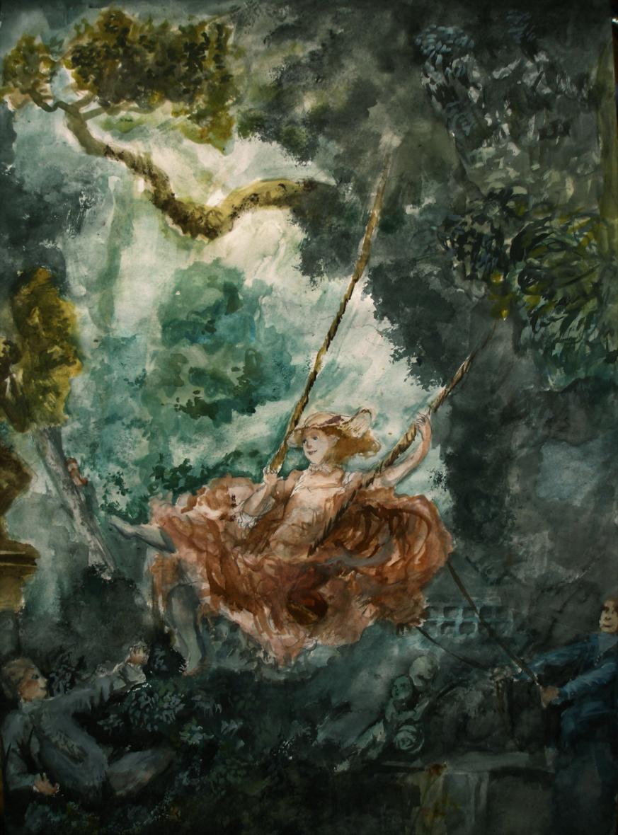 The Swing by rarazet