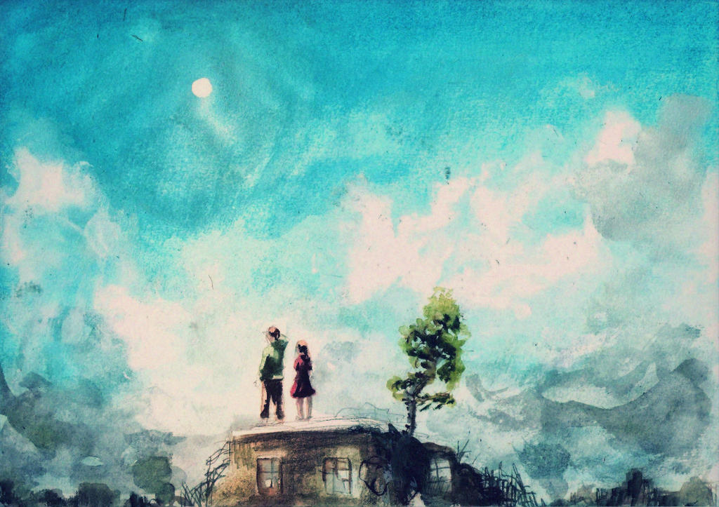Two Worlds by rarazet