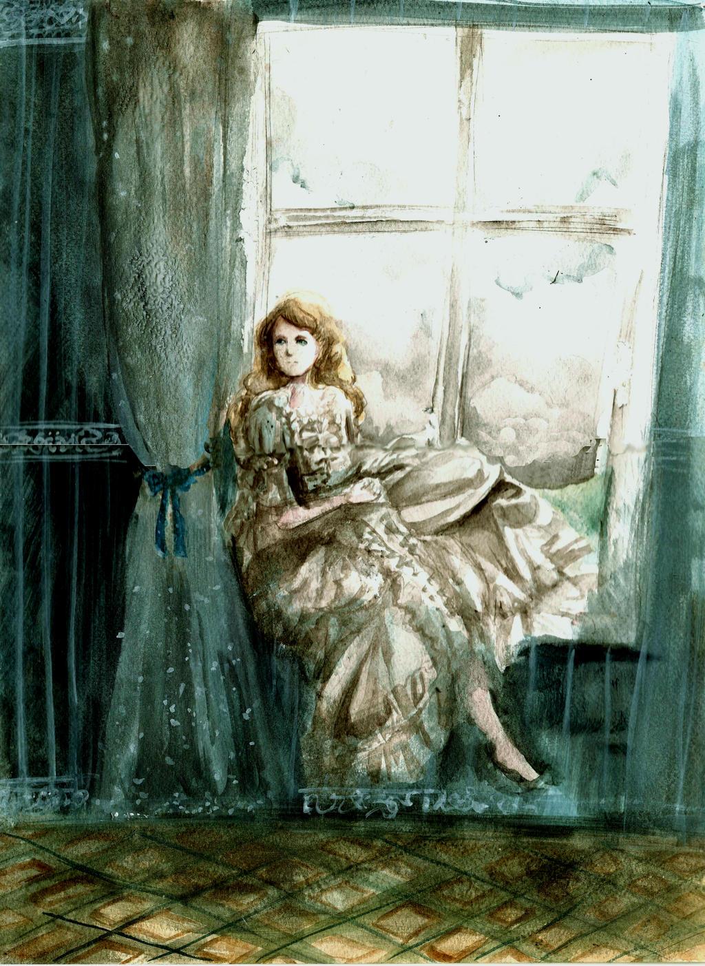 Dziewcze w oknie by rarazet