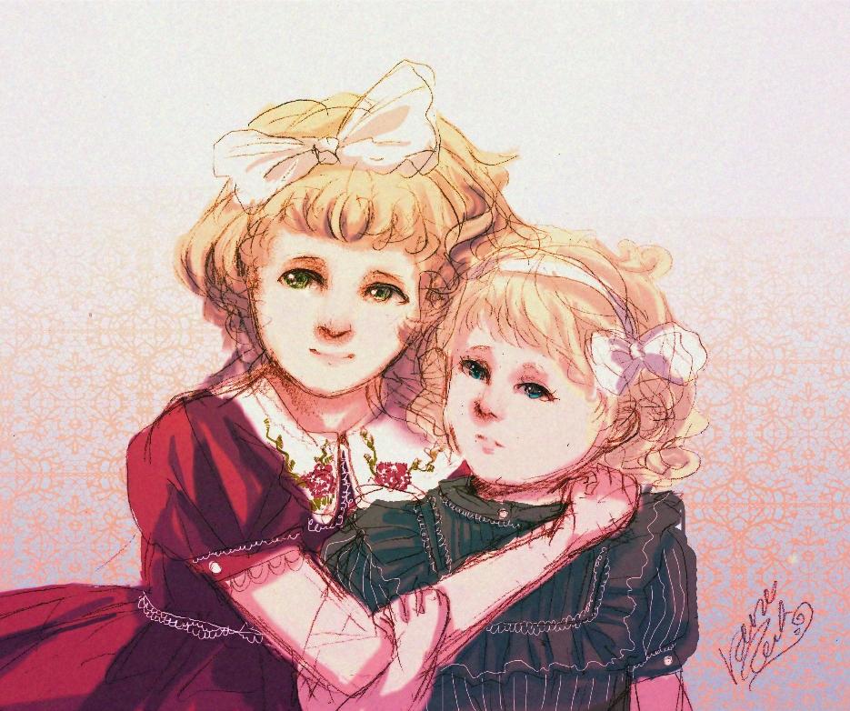 Siostrzyczki by rarazet