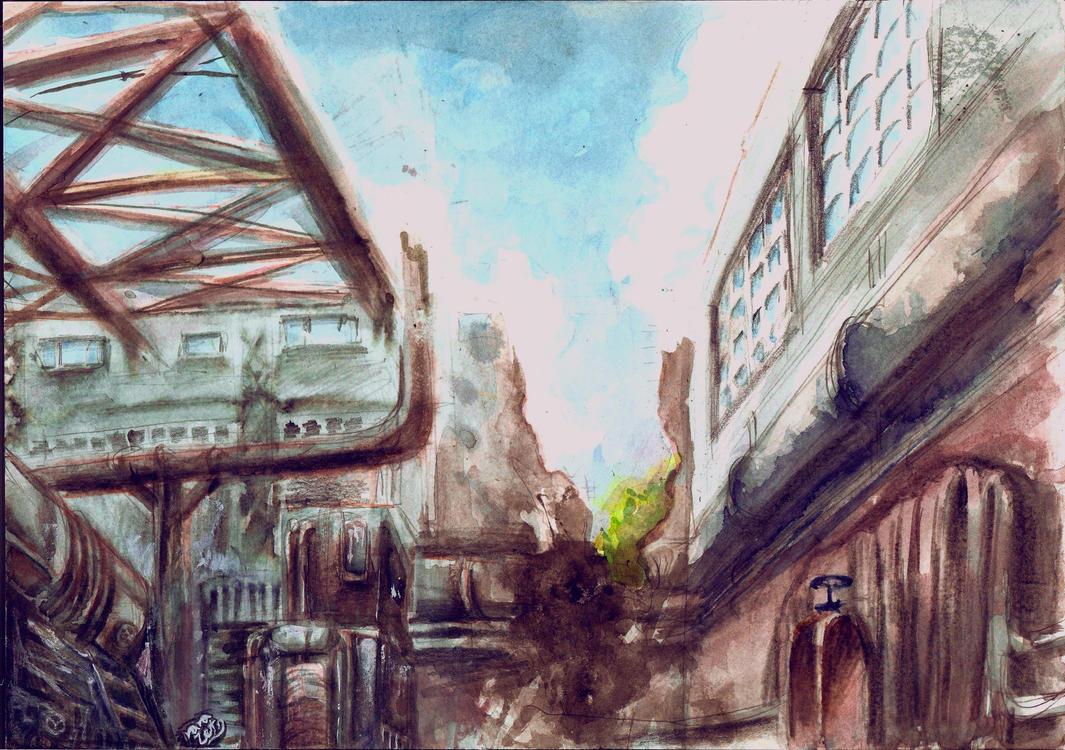 Factory by rarazet