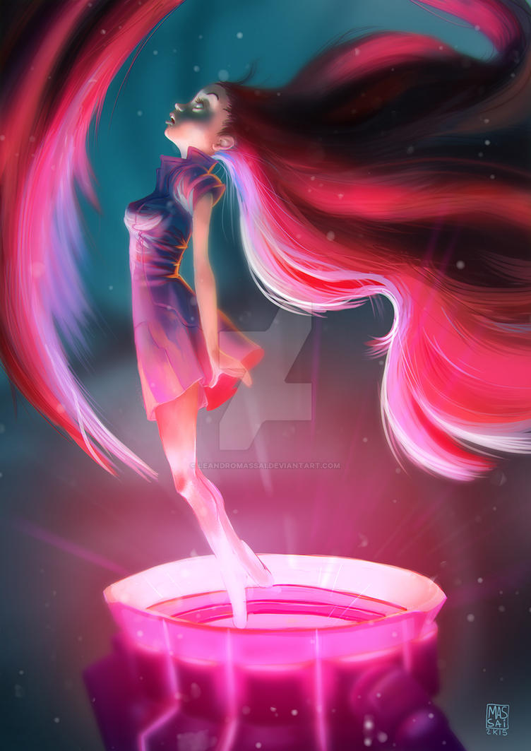Teleport Girl by LeandroMassai