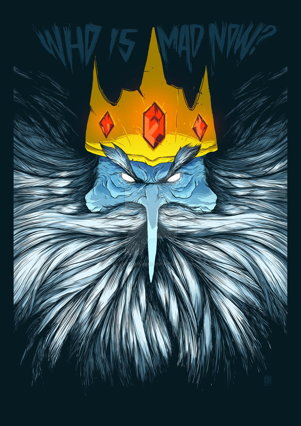 Adventure Time Wallpaper Ice King