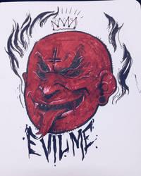 Evil Me by LeandroMassai