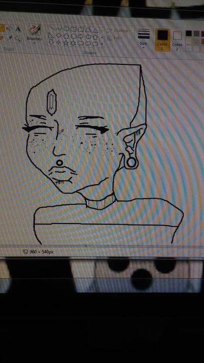 alien girl by johnny171819