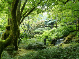 Japanese Garden 6 by raindroppe