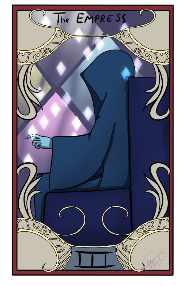 Tarot Card III: The Empress by Nalissia