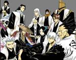 All bleach captains