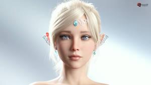 Ellania Portrait (WIP)