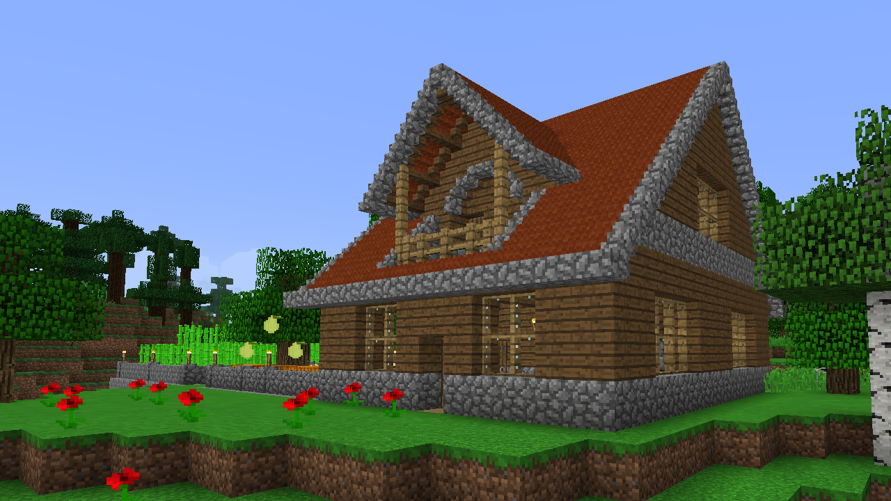 Minecraft Wooden House 2 By Timidouveg On Deviantart