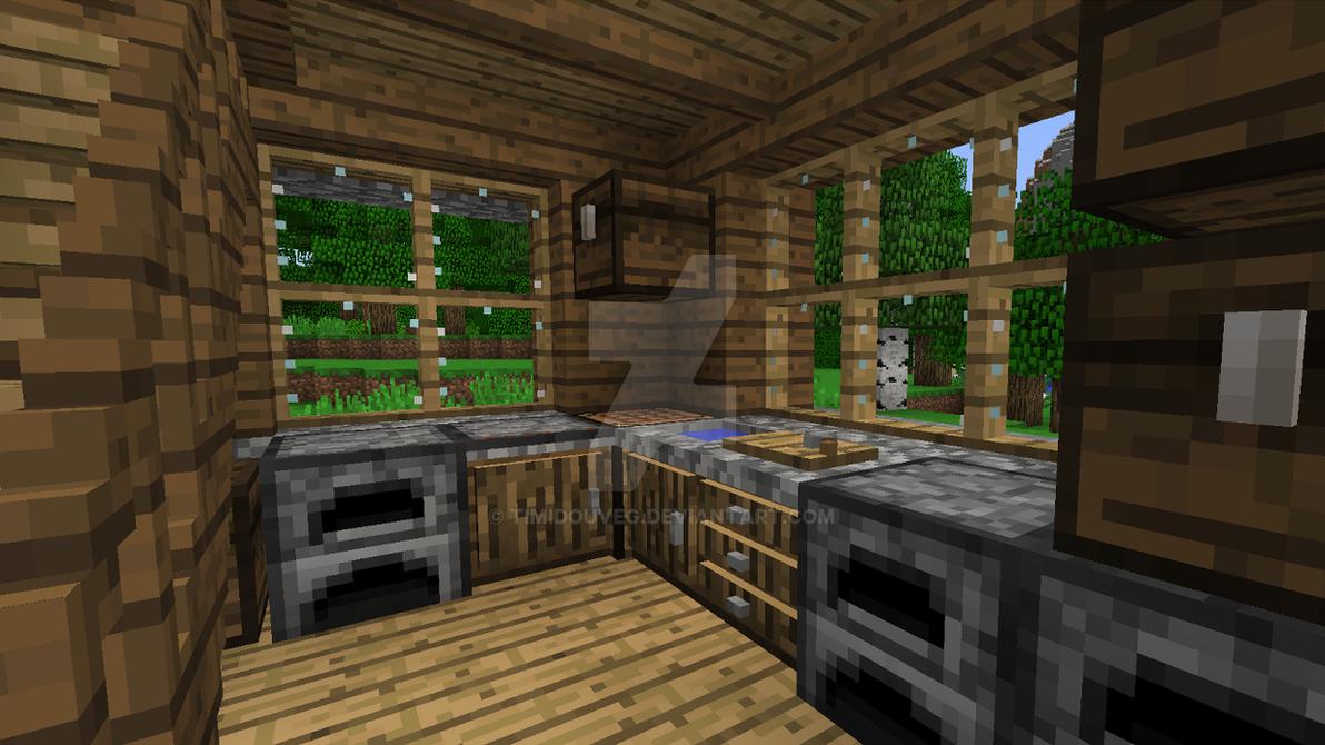 Minecraft Kitchen Mod Leicht Kuche Keramik Arbeitsplatte >> 15 + ...
