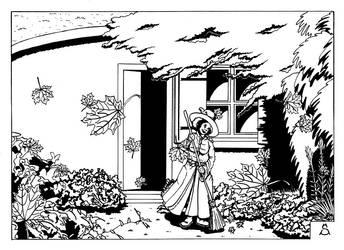 Garden cleaning / Nettoyage du jardin